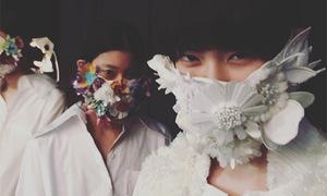 Flower power: Vietnamese designer wows Tokyo fashion week
